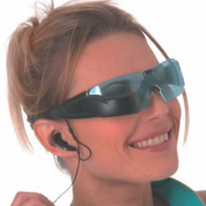 OLED glasses for health applications