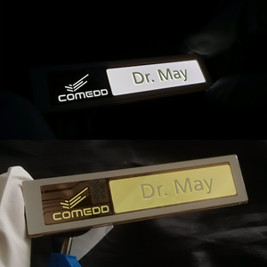 OLED with customized logo (Name Tag)